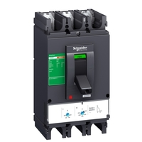 Силовой автомат Schneider Electric EasyPact CVS 400, TM-D, 36кА, 3P, 400А